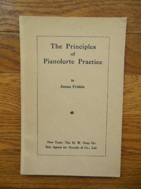 Image for The Principles of Pianoforte Practice