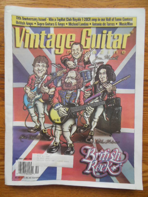 Image for Vintage Guitar Magazine October 1997