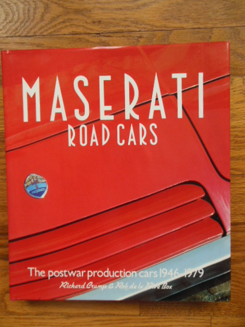 Image for Maserati Road Cars 1946 1979