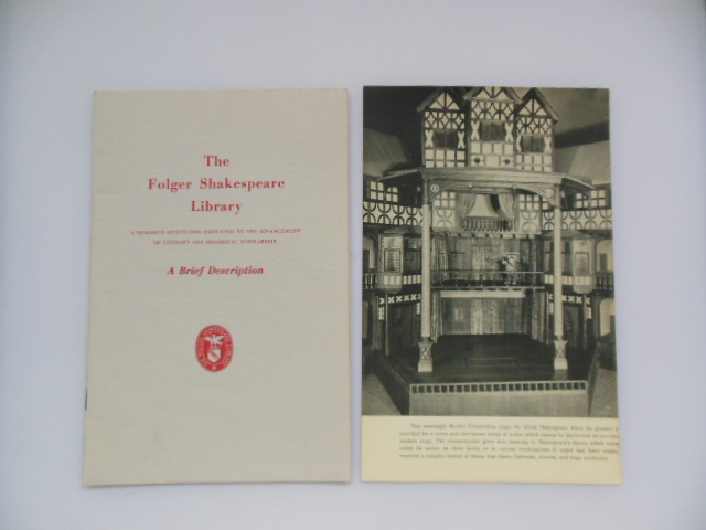 Image for The Folger Shakespeare Library Ephemera  (7 pieces)