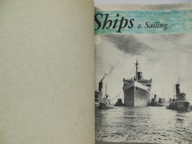 Image for Ships and Sailing Magazine Bound (January 1951-April 1952)