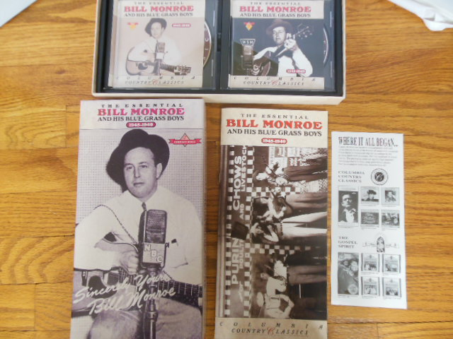 Image for The Essential Bill Monroe and His Blue Grass Boys 1945-1949