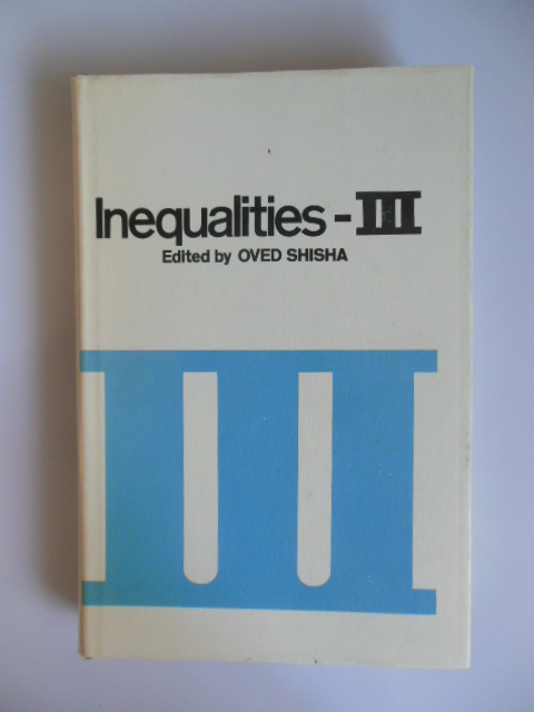 Image for Inequalities -- III