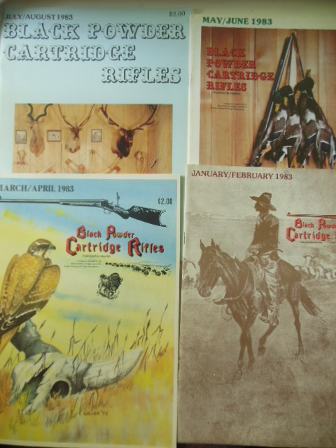 Image for Black Powder Cartridge Rifles Magazine 1983 (Four Consecutive Issues)