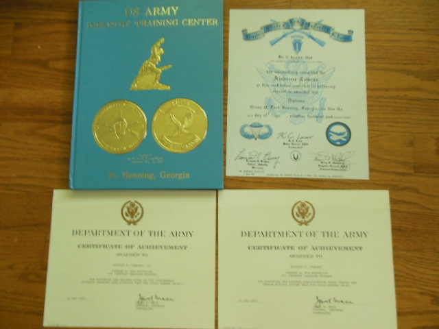 Image for US Army Infantry Training Center Ft. Benning, Georgia; Company E 6th Bn, 1st  Inf. Training Brigade Graduation May 22, 1987  (Ephemera Laid-in)