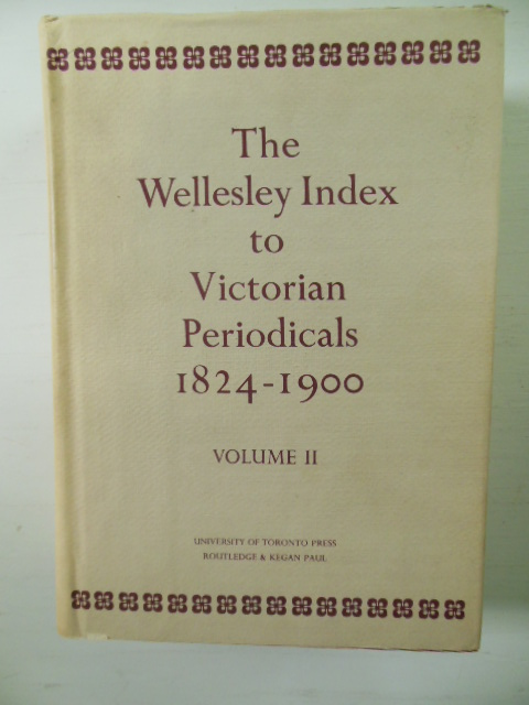 Image for Wellesley Index to Victorian Periodicals, 1824-1900  VOLUME II