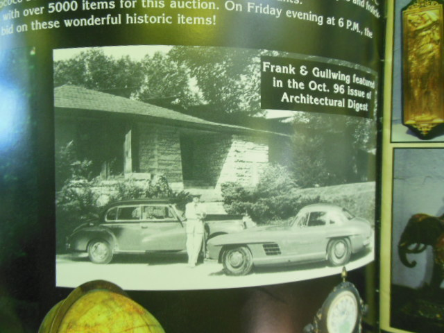 Image for The World Famous Great Gatsby's Antique Auction June 6th-7th, 1997 (Frank Loyd Wright's Personal Car)