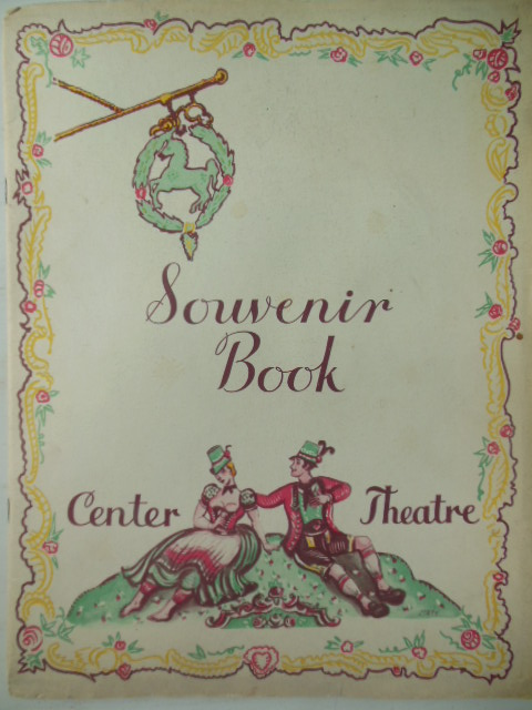 Image for Laurence Rivers Inc. Presents William Caxton and Kitty Carlisle in Erik Charell's White Horse Inn (Souvenir Program Center Theatre)