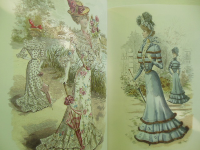 Image for The Charm of Art Nouveau; Fashion Plates of the Late 19th Century