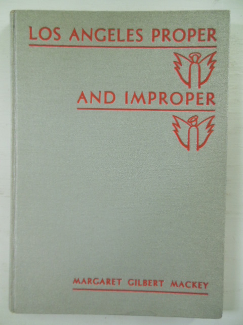 Image for Los Angeles Proper and Improper
