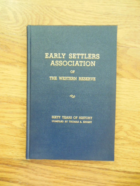 Image for Annals of the Early Settlers Association of The Western Reserve; Proceedings of the Years 1939-1940