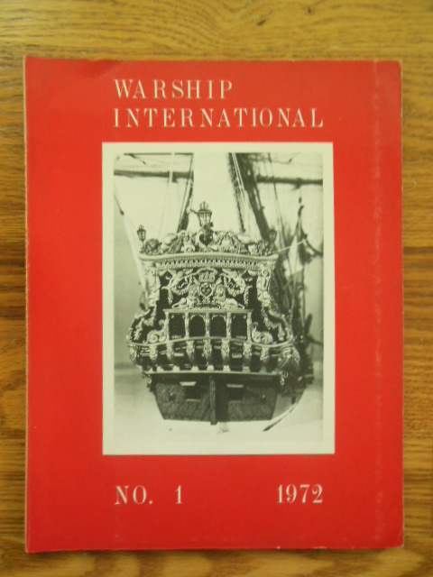 Image for Warship International  Magazine  No. 1,  1972