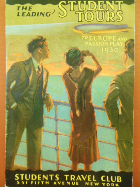 Image for Students Travel Club, The Leading Student Tours To Europe and Passion Play 1930