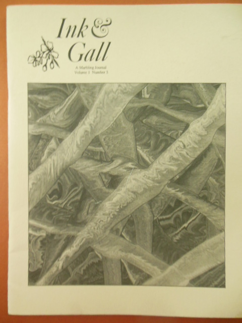 Image for Ink & Gall A Marbling Journal Vol.1 Number 3