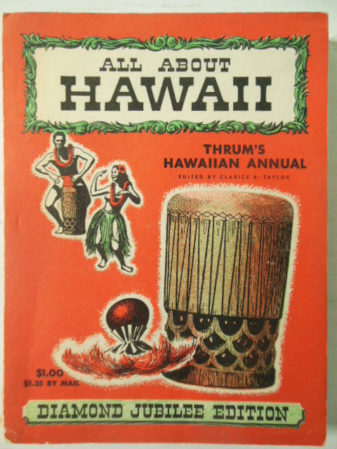 Image for All About Hawaii; Thrum's Hawaiian Annual 1950