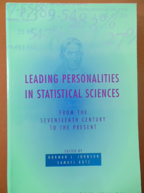 Image for Leading Personalities in Statistical Sciences: From the Seventeenth Century to the Present