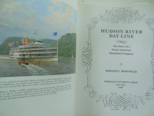 Image for Hudson River Day Line : The Story of a Great American Steamboat Company