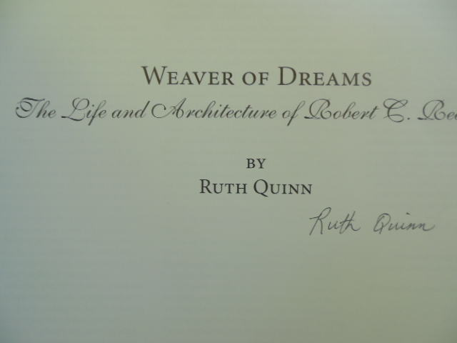 Image for Weaver of Dreams; The Life and Architecture of Robert C. Reamer