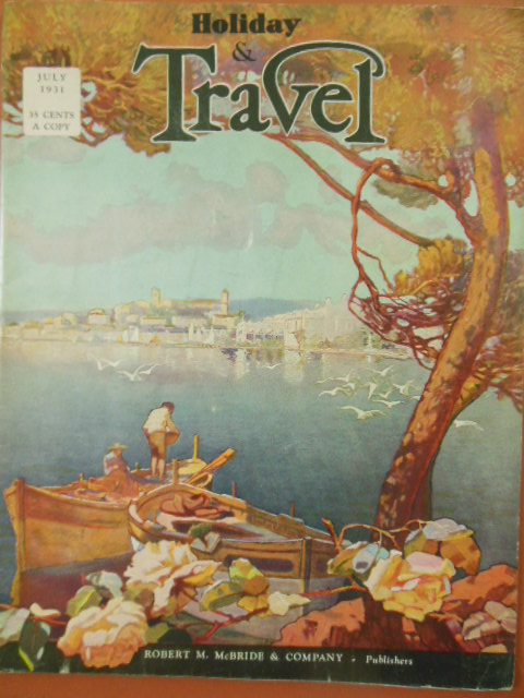 Image for Holiday and Travel Magazine July, 1931