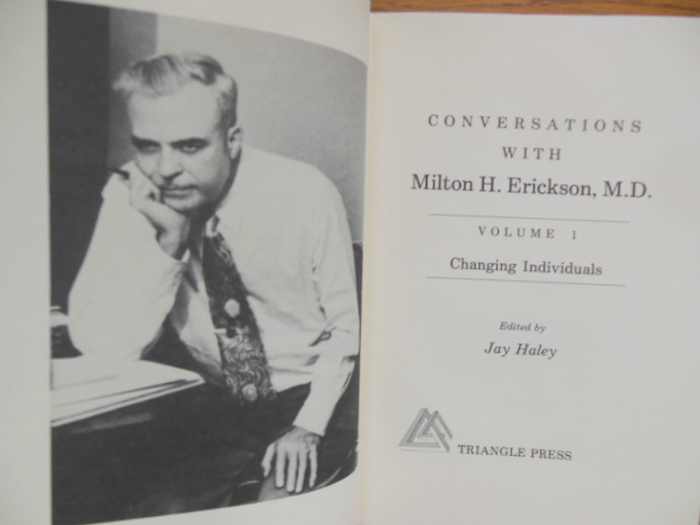 Image for Conversations with Milton  H. Erickson, M.D. (Volume  I Changing Individuals)