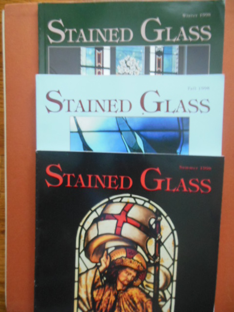 Image for Stained Glass Magazine (Summer, Fall, Winter, 1998)