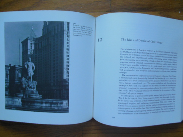 Image for Public Sculpture and the Civic Ideal in New York City, 1890-1930