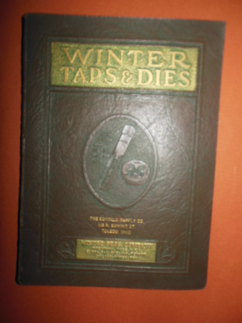 Image for Winter Brothers Company Taps and Dies Catalog No. 16