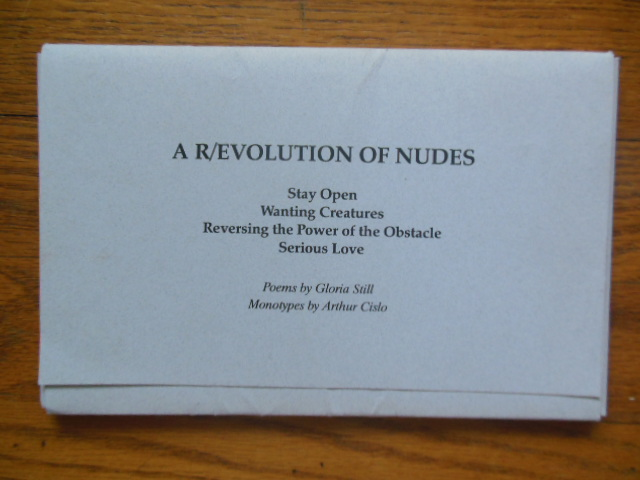 Image for A R/evolution of Nudes: Stay Open, Wanting Creatures, Reversing the Power of the Obstacle, Serious Love