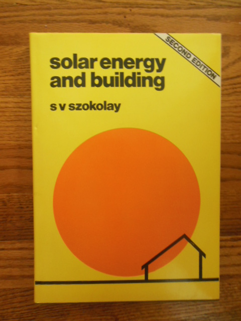 Image for Solar Energy and Building