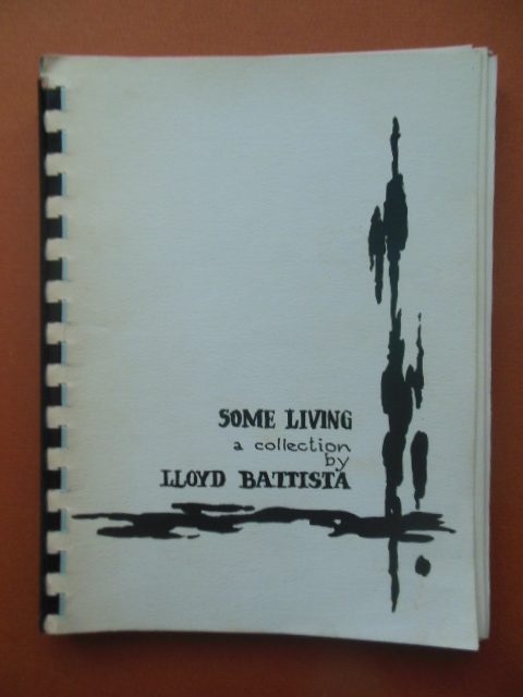 Image for Some Living;  A Collection By Lloyd Battista