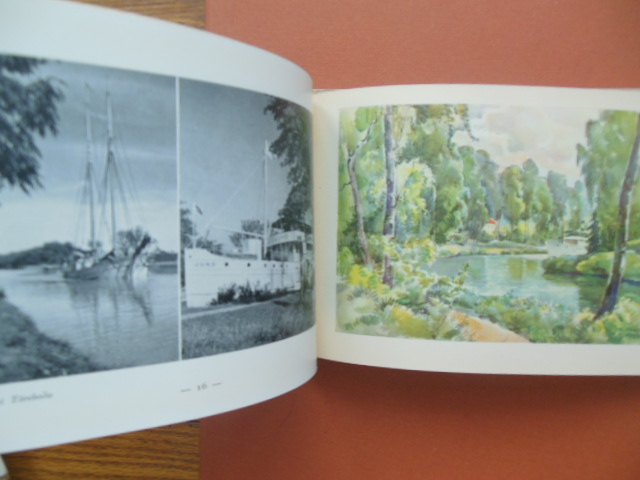 Image for Gota Canal Sweden (Travel Guide 1935 ENGLISH Language)