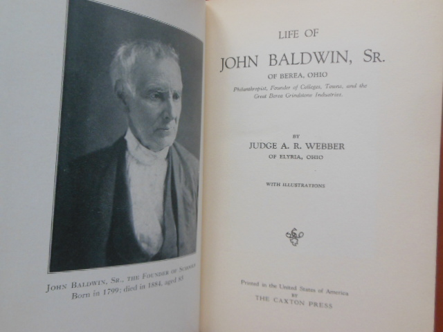 Image for Life of John Baldwin Sr. of Berea, Ohio