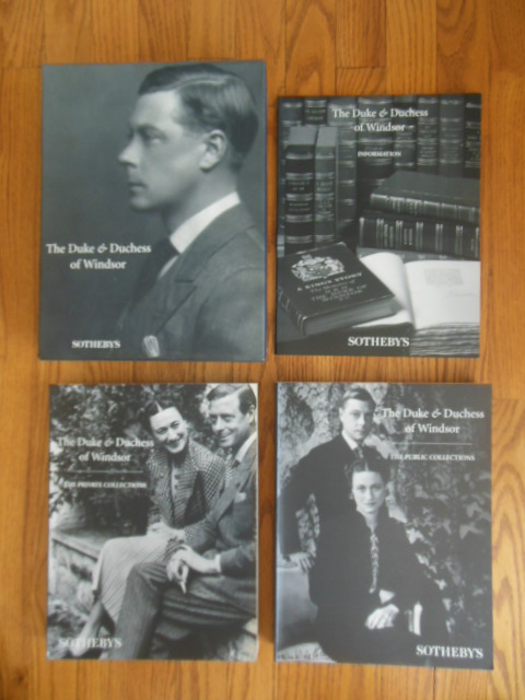 Image for The Duke and Duchess of Windsor Auction Catalogs Deptember 1997 (Two Volumes in Slipcase Plus Information Book)