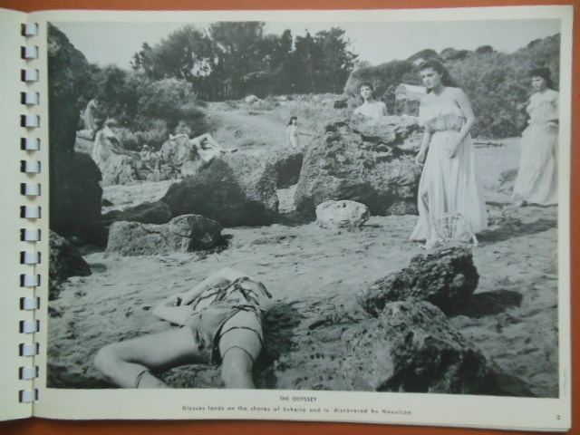 Image for Literary Prints; The Odyssey by Homer (10 Large Movie Stills)