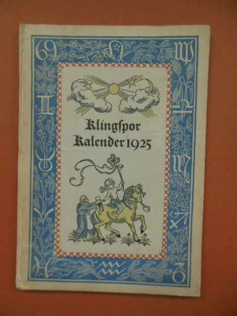 Image for Klingspor Kalender 1925 (German)