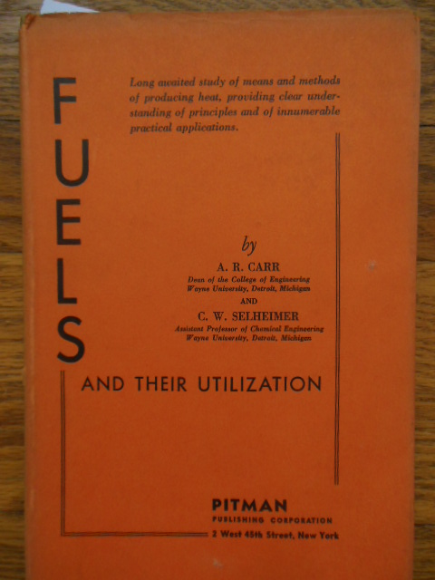 Image for Fuels AndTheir Utilization