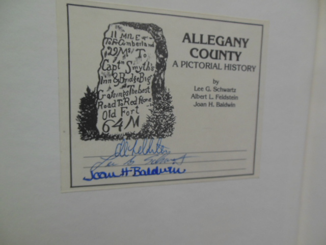 Image for Allegany County; A Pictorial History (SIGNED)