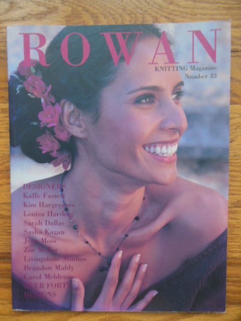 Image for Rowan Knitting Magazine Number 33