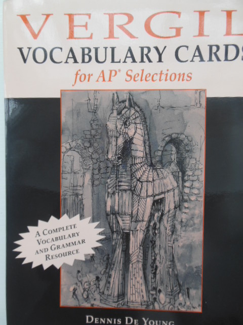 Image for Vergil Vocabulary Cards for AP Selections