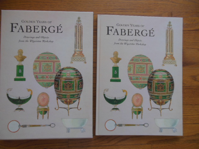 Image for Golden Years of Faberge; Drawings  and Objects  from the Wigstrom Workshop