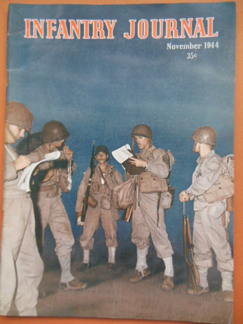 Image for Infantry Journal Magazine November, 1944