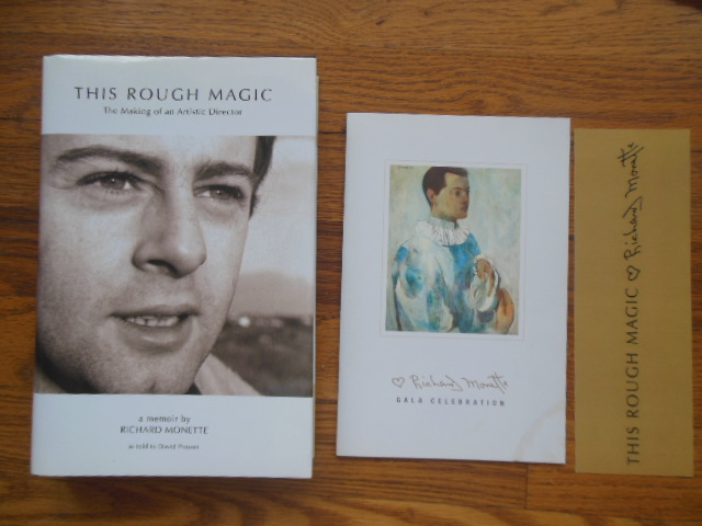 Image for This Rough Magic; The Making of an Artistic Director  (Booklet and Matching Bookmark  Laid-in)