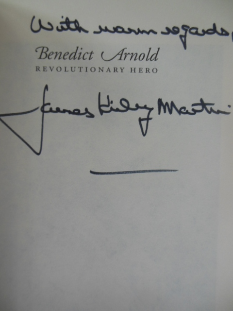 Image for Benedict Arnold Revolutionary Hero; An American Warrior Reconsidered (SIGNED 1st)