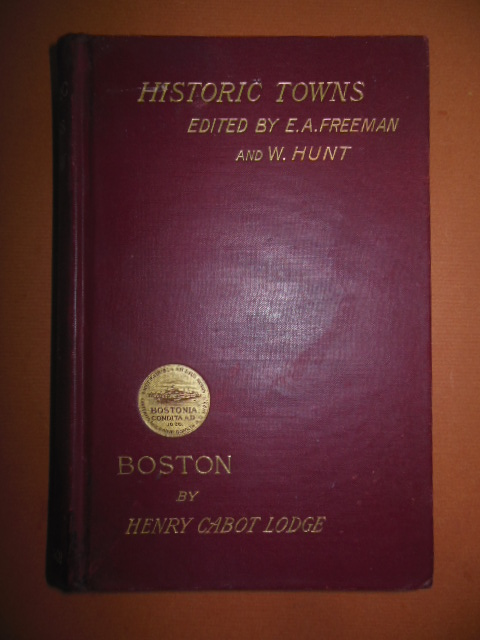 Image for Historic Towns; Boston