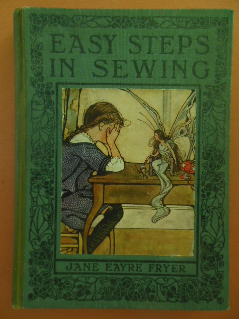 Image for Easy Steps in Sewing or Adventures Among the Thimble People / The Wonder Book of Knowledge  (Combined Salesman's Dummy Books)