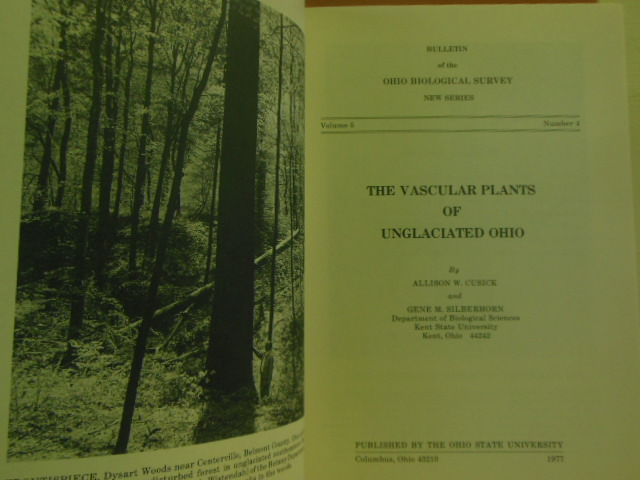 Image for The Vascular Plants of Unglaciated Ohio