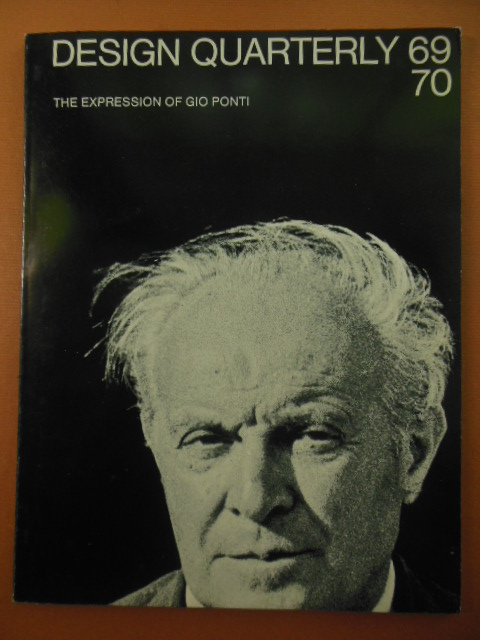 Image for The Expression of Gio Ponti (Design Quarterly 69/70)