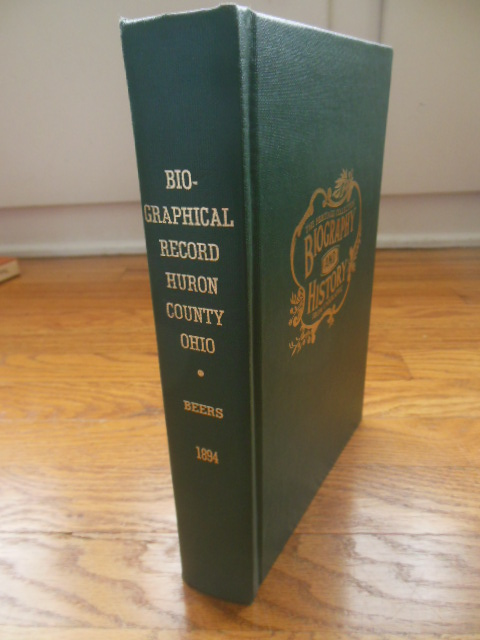 Image for Commemorative  Biographical Record of the Counties of Huron and Lorain, Ohio  Volume I
