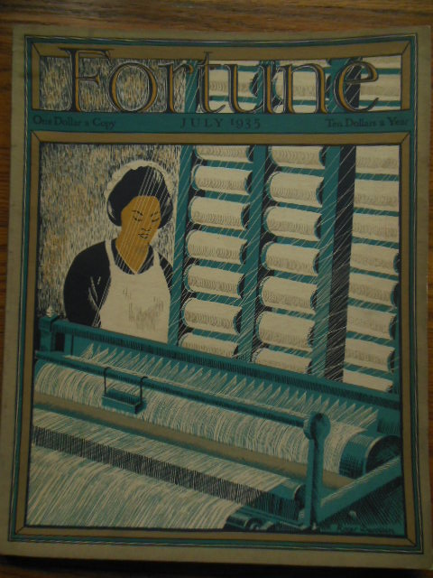 Image for Fortune Magazine July, 1935 (Anheiser-Busch, Women In Business, Restoring Williamsburg, U.S. Smelting & Refining)