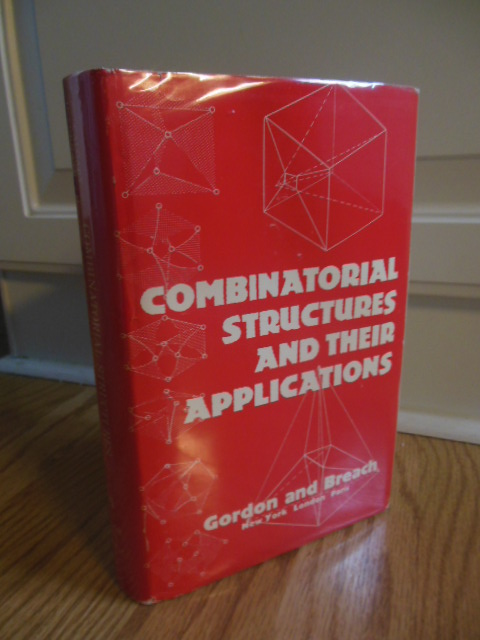 Image for Combinatorial Structures and Their Applications